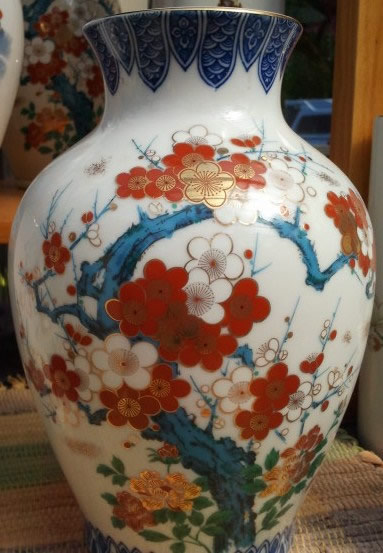 We have several Hand Decorated Ceramic Flower Vases.