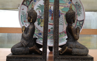 We even have Buddha Bookends.