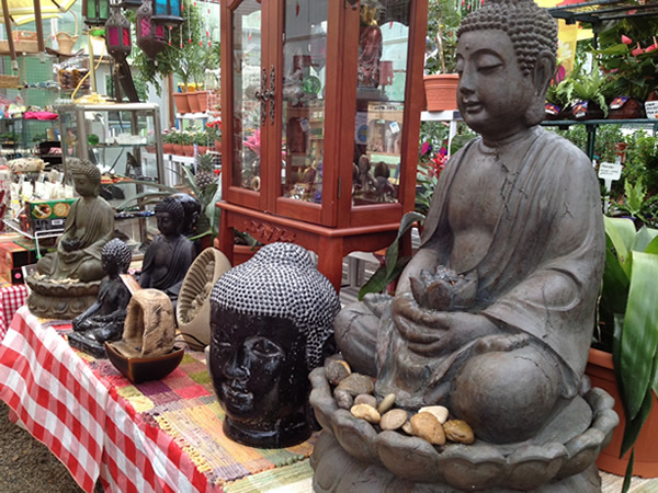 A great selection of Buddhas