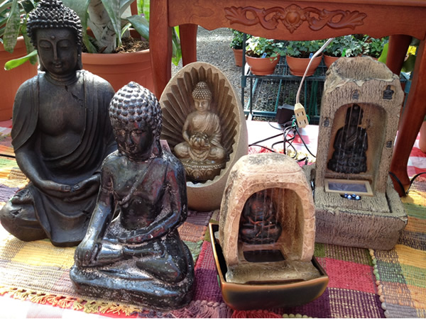 Buddha Fountains!