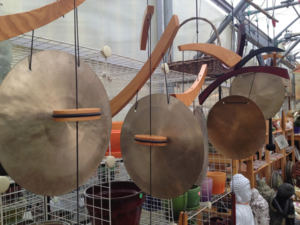 Gongs are Fun, and Great for Summoning Everyone to Dinner