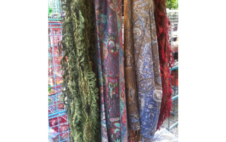 Pashmir Scarves, for Warmth or Fashion.