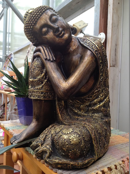 Sleeping Bronze Buddha