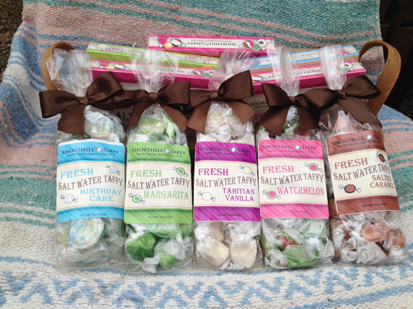 Mouth Watering Salt Water Taffy from Oregon
