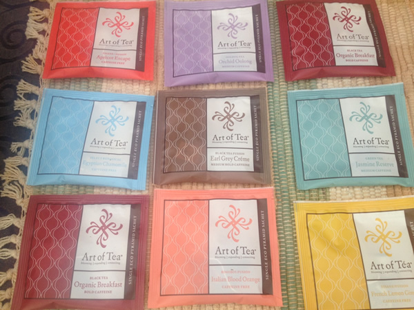 A wide variety of fine teas!