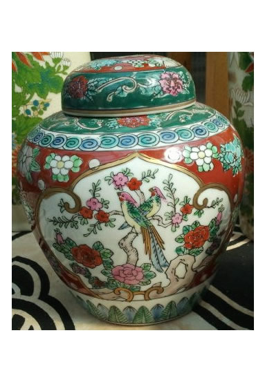 Intricately decorated Urns