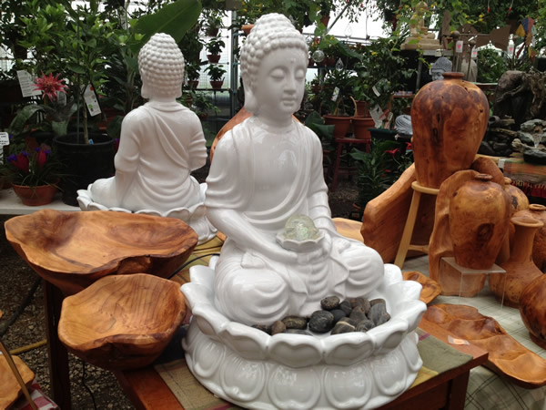 Beautiful Buddha Fountains bring Peace, Tranquility, and Harmony to your Home or Office.