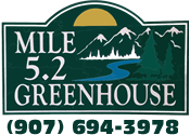 Mile 5.2 Greenhouse & Gift Shop Logo