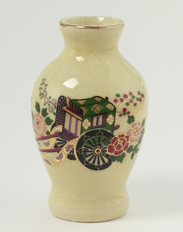 Small Urn with Cart